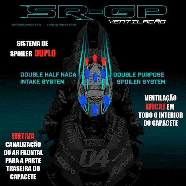 CÓPIA - Capacete Suomy SR-GP Dovi 2019