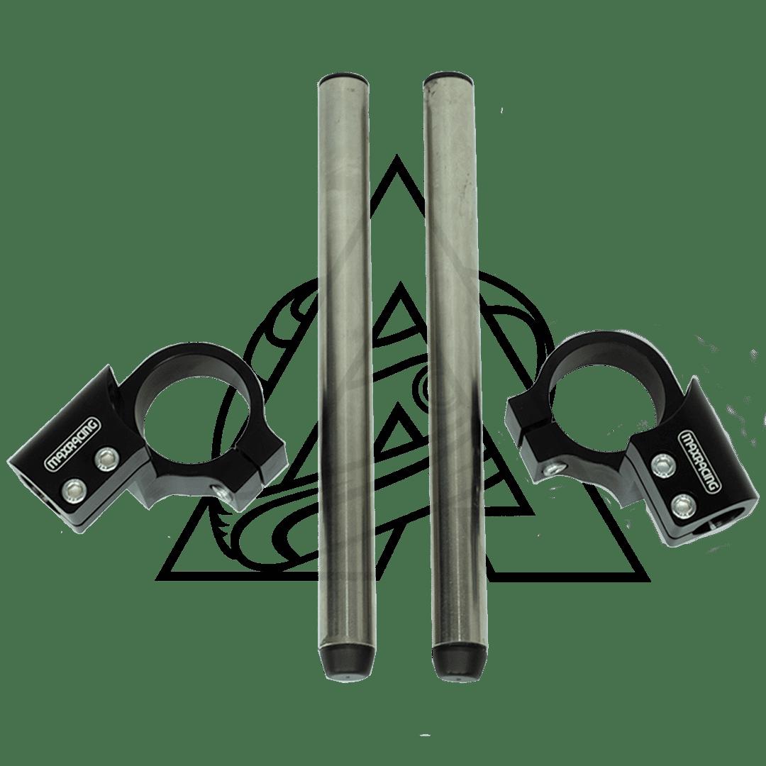 Semi Guidão Esportivo Para Kawasaki Ninja 400