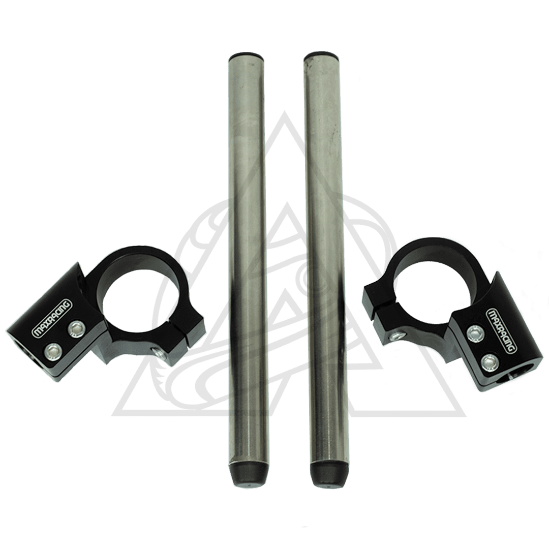 Semi Guidão Esportivo Para Kawasaki Ninja 400 Pista