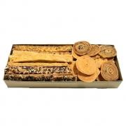 Bandeja com Mix de Biscoitos Salgados P