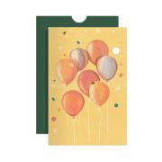 Cartão Balões
