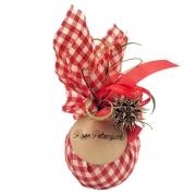 Chocolate ao Leite - Bola de Natal Xadrez