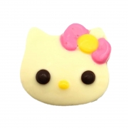 Hello Kitty de Chocolate Branco P
