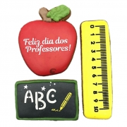 Kit de Bolacha de Mel Confeitada - Dia dos Professores