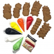 Kit de Bolacha de Mel Infantil - Para Confeitar