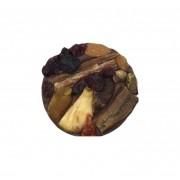 Medalhão de Frutas com Chocolate ao Leite