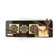 Petit Pavet de Chocolate ao Leite com Quatro Unidades
