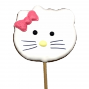 Pirulito Bolacha de Mel - Hello Kitty
