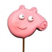 Pirulito de Bolacha de Mel Peppa Pig