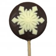Pirulito de Chocolate - Floco de Neve