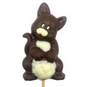 Pirulito de Chocolate - Gato