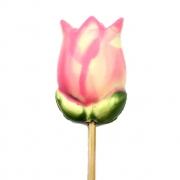 Tulipa Rosa de Chocolate ao Leite