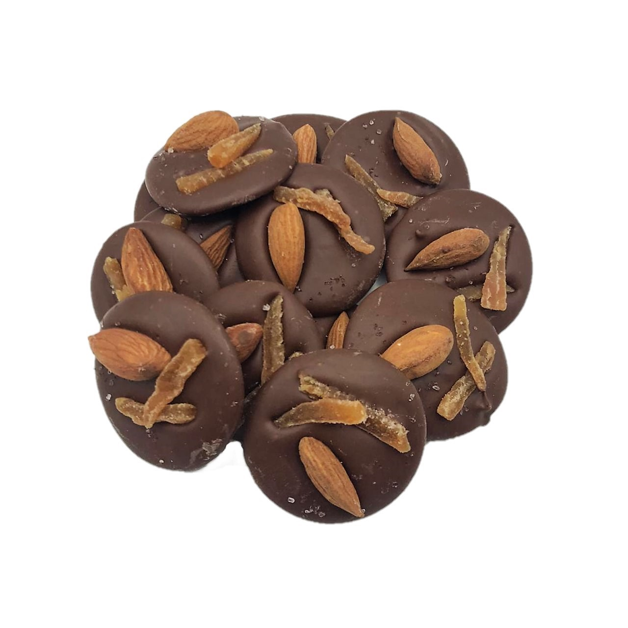 Disco de Chocolate - Amêndoas com Cupuaçu