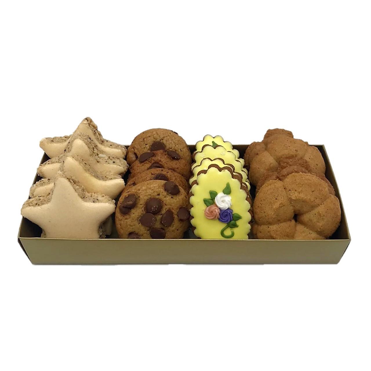 Bandeja com Biscoitos Doces Mistos Pequena