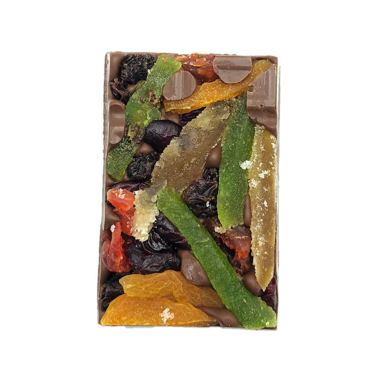 Barra de Chocolate Ao Leite com Frutas