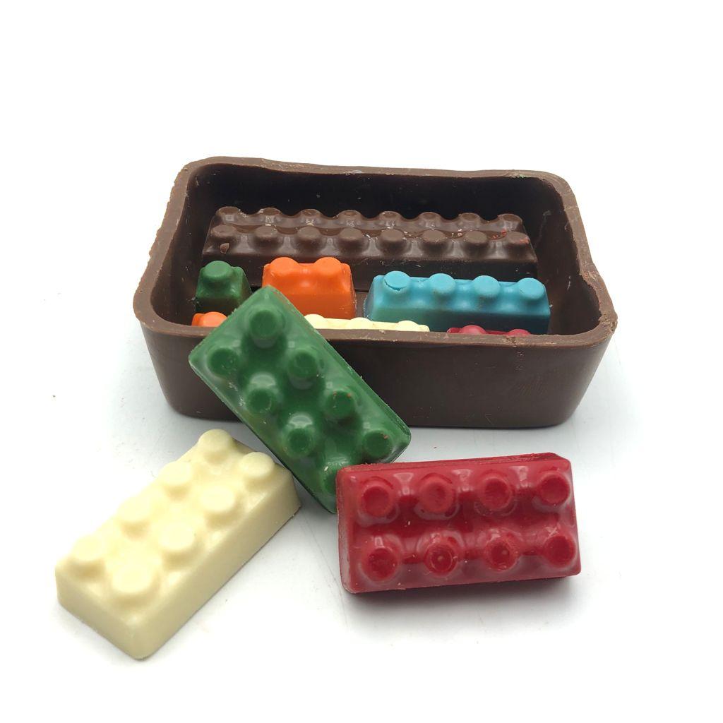 Caixa de Lego de Chocolate P