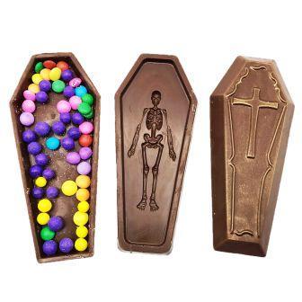 Caixão de Chocolate ao Leite