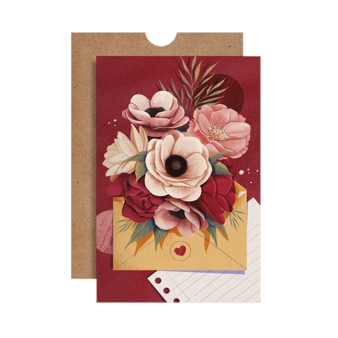 Cartão Flores