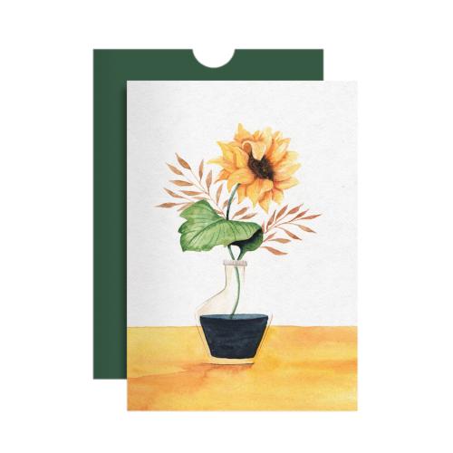 Cartão Girassol