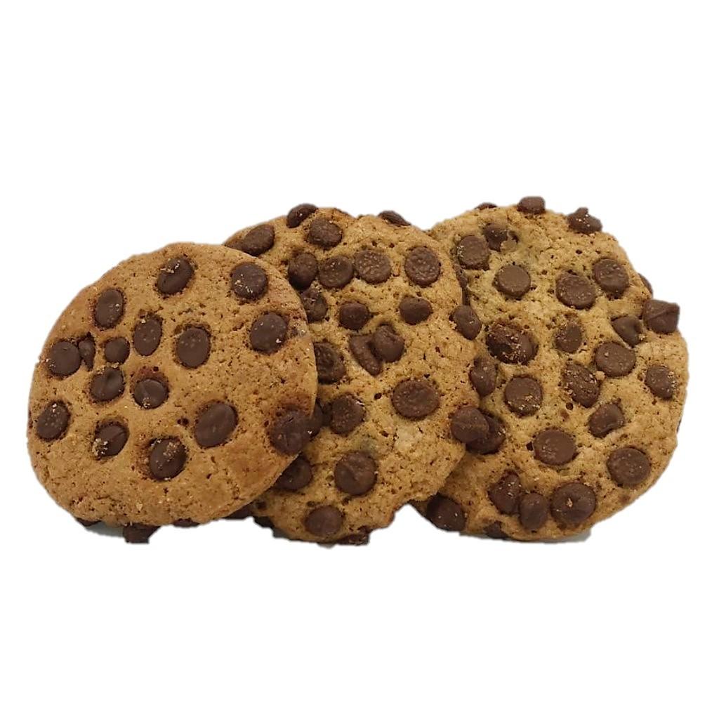 Cookie de Baunilha com Gotas de Chocolate ao Leite
