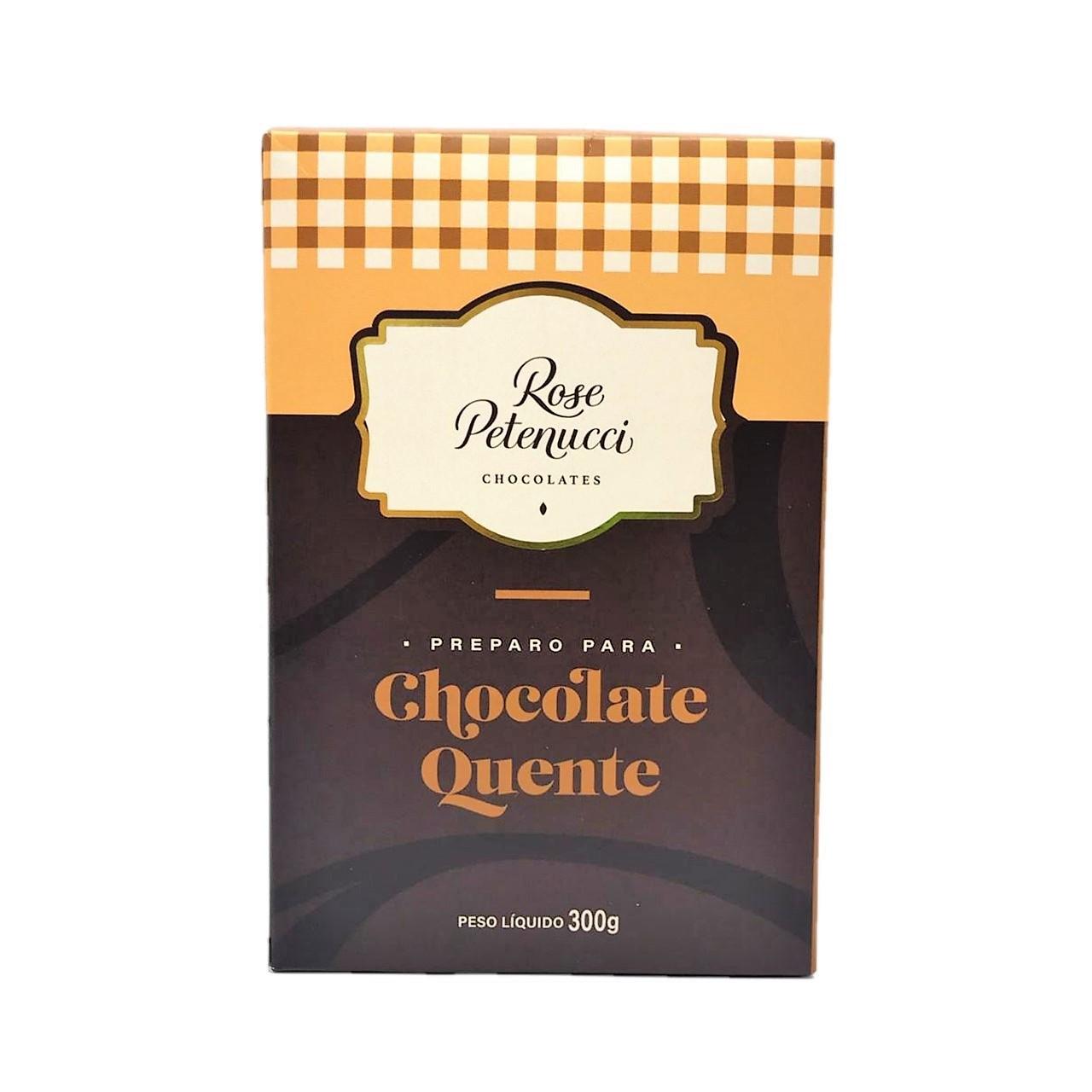 Preparo para Chocolate Quente