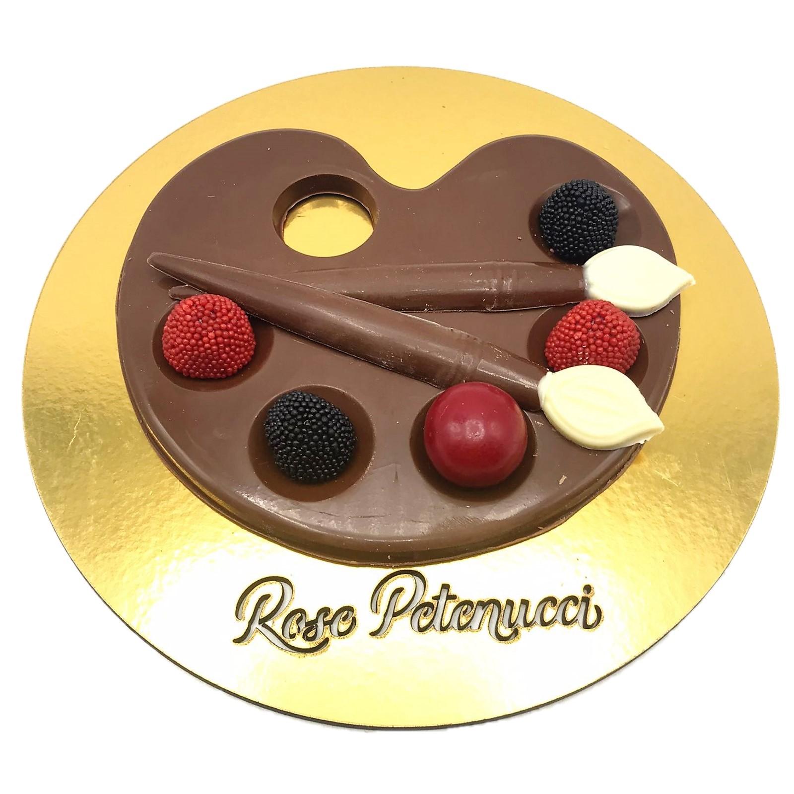 Paleta de Cores de Chocolate