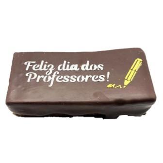 Pão de Mel - Feliz Dia dos Professores Recheado de Brigadeiro