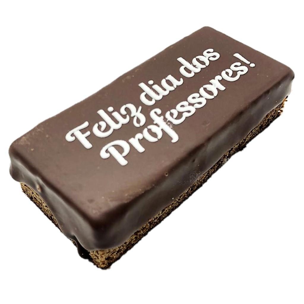 Pão de Mel - Feliz Dia dos Professores Recheado de Doce de Leite