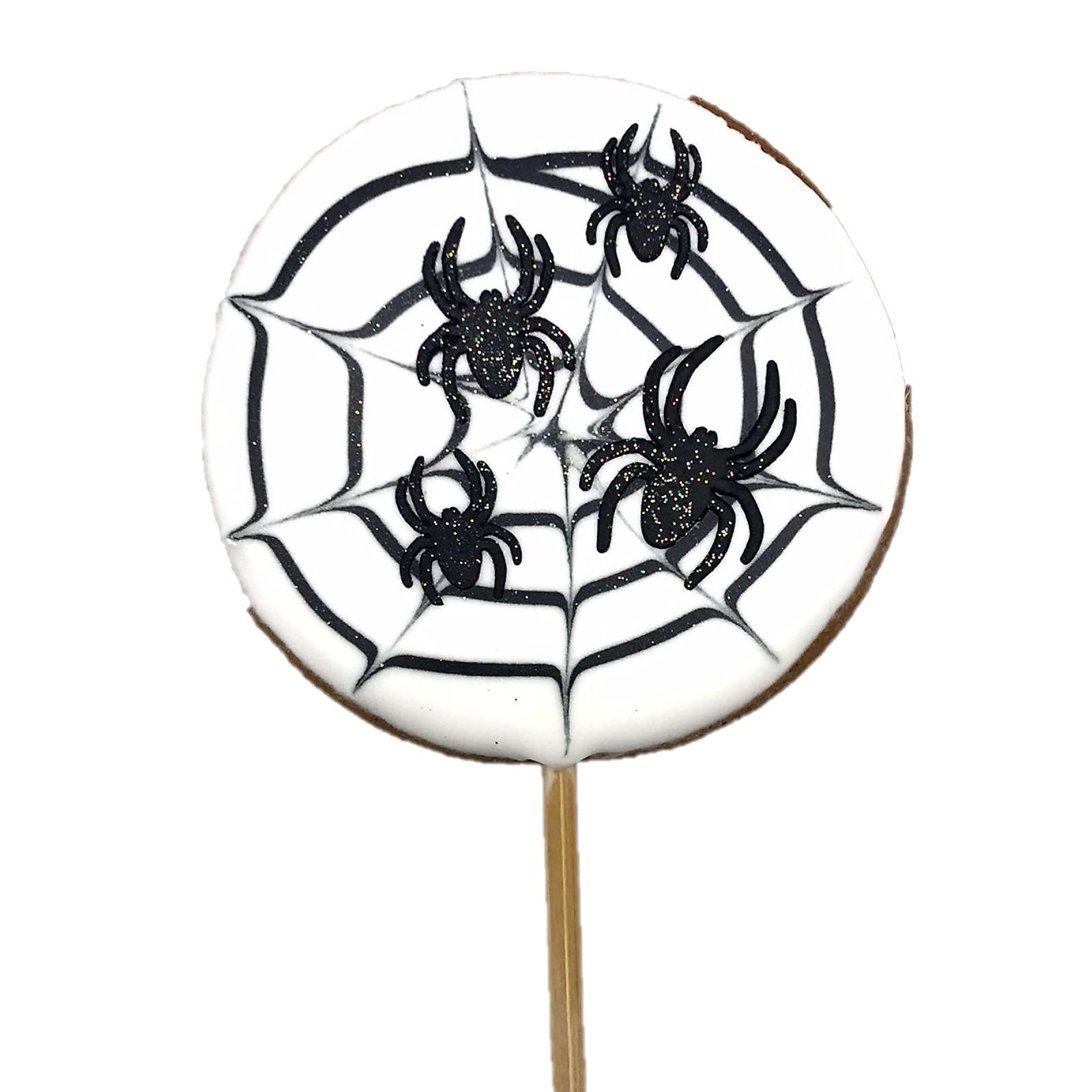 Pirulito Bolacha de Mel - Aranha