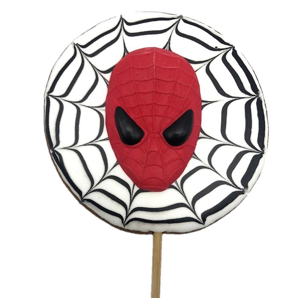 Pirulito Bolacha de Mel - Homem Aranha