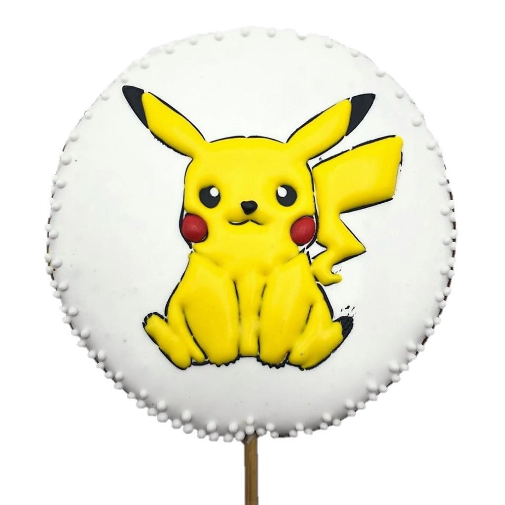 Pirulito Bolacha de Mel - Pikachu