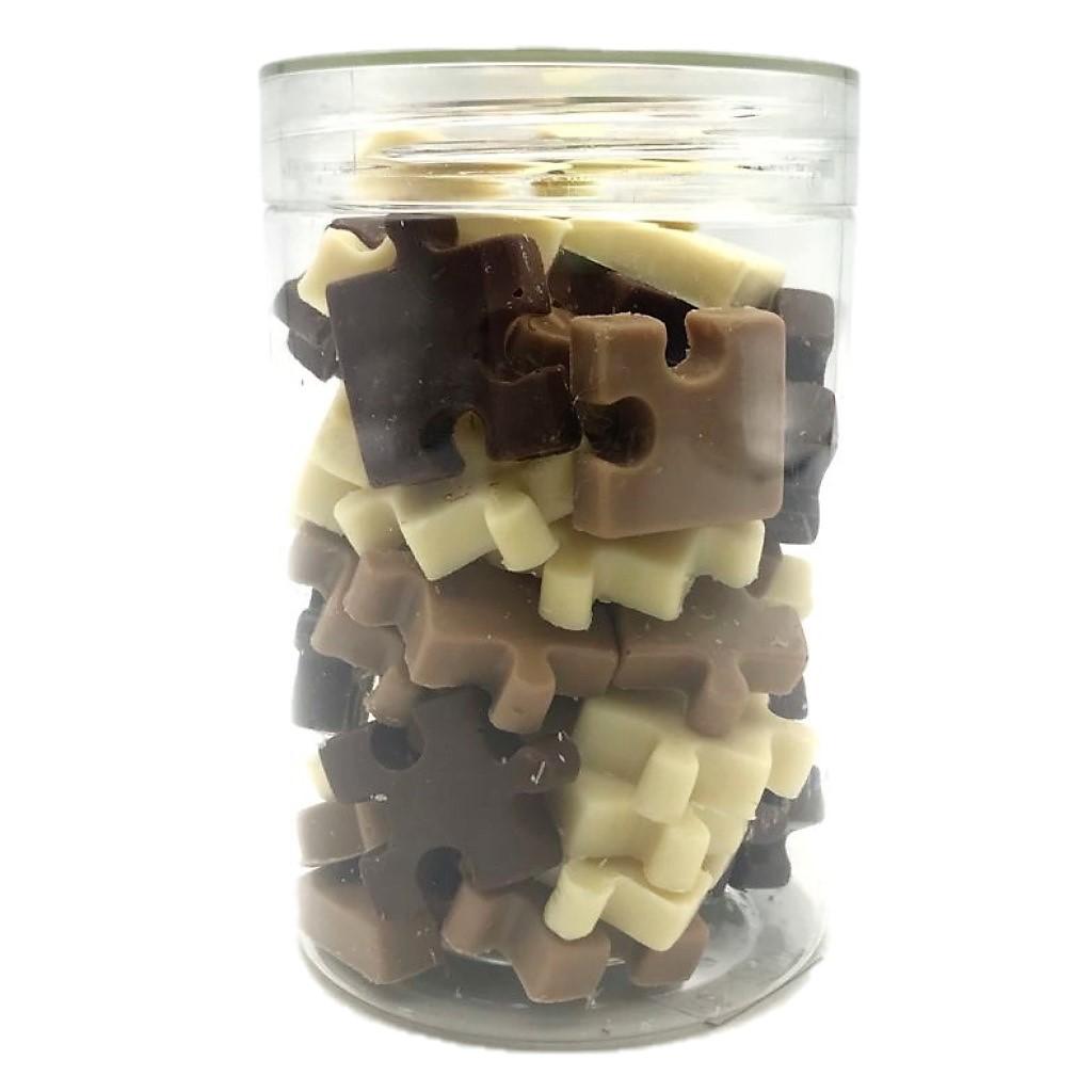 Quebra - Cabeça de Chocolate ao Leite