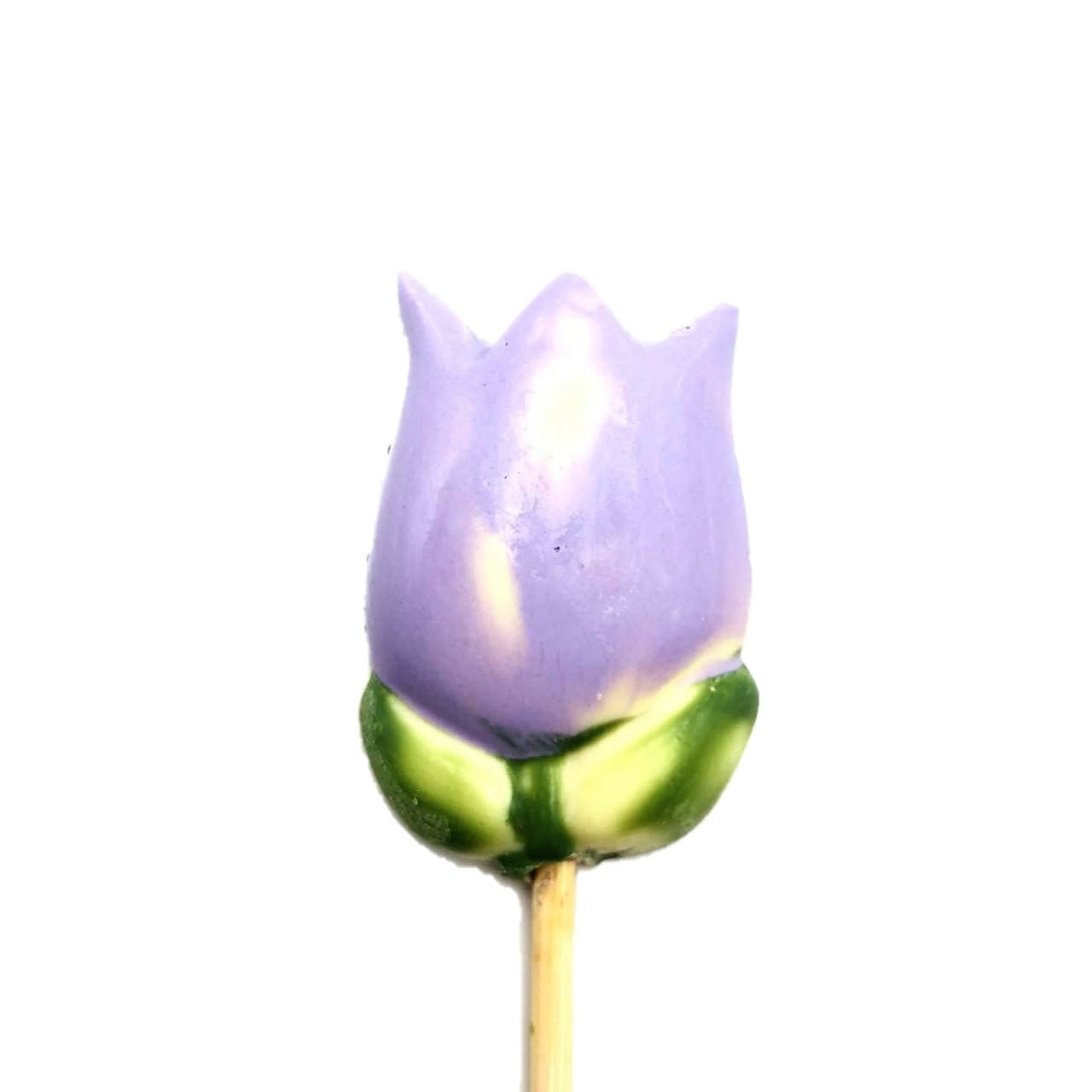 Tulipa Lilás de Chocolate ao Leite