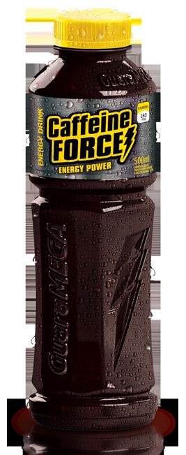 Guaramega Caffeine Force Energy Power 500ml - <b>R$6,80</b> a und - Pacote com 12 unidades