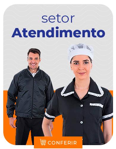 uniformes para atendimento