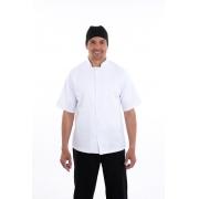 Camisa para Cozinheiro Masculina Manga Curta - Brim 100% algodão