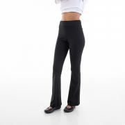 Kit com 3 Calças Bailarina Flare Cintura Alta em tecido Suplex