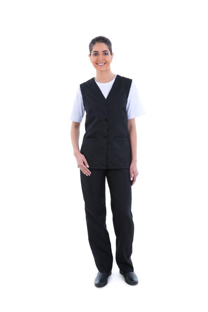 Conjunto de calça com colete em oxford  - EBT UNIFORMES