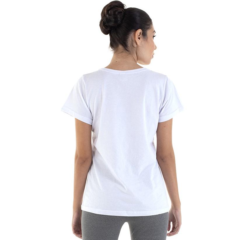 Kit Com 3 Camisetas Femininas Manga Curta 100% algodão - Branca e Preta  - EBT UNIFORMES