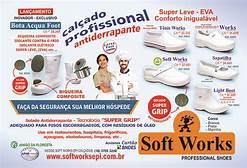 Tênis Softwork BB80 com antiderrapante  - EBT UNIFORMES
