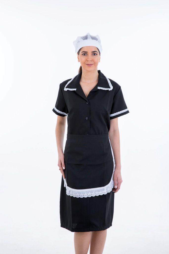 Vestido Copeira em oxford  - EBT UNIFORMES