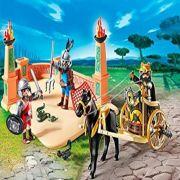 ARENA DE COMBATE COM GLADIADOR PLAYMOBIL