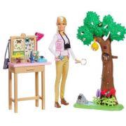 Boneca Barbie National Geographic Cuidadora de Borboletas Mattel