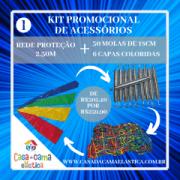 KIT  ACESSÓRIOS - 1 / CASA DA CAMA ELÁSTICA