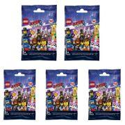 Lego Movie 2 Colecionável Kit com 5 Minifiguras Sortidas 71023