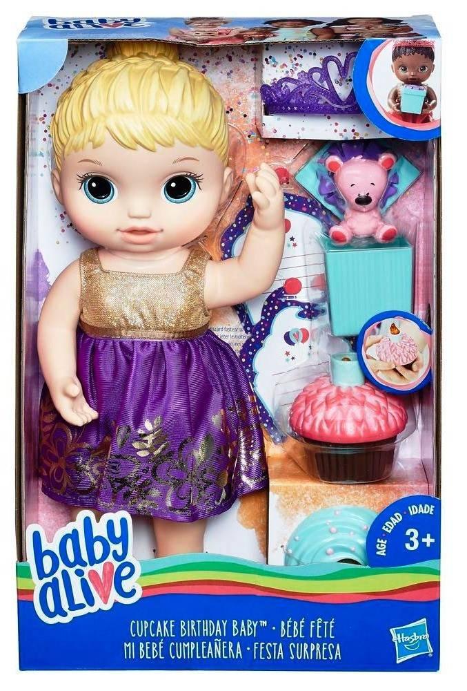 BABY ALIVE FESTA SURPRESA LOIRA E0596