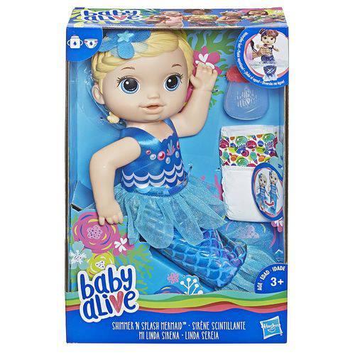 BABY ALIVE LINDA SEREIA LOIRA E3693