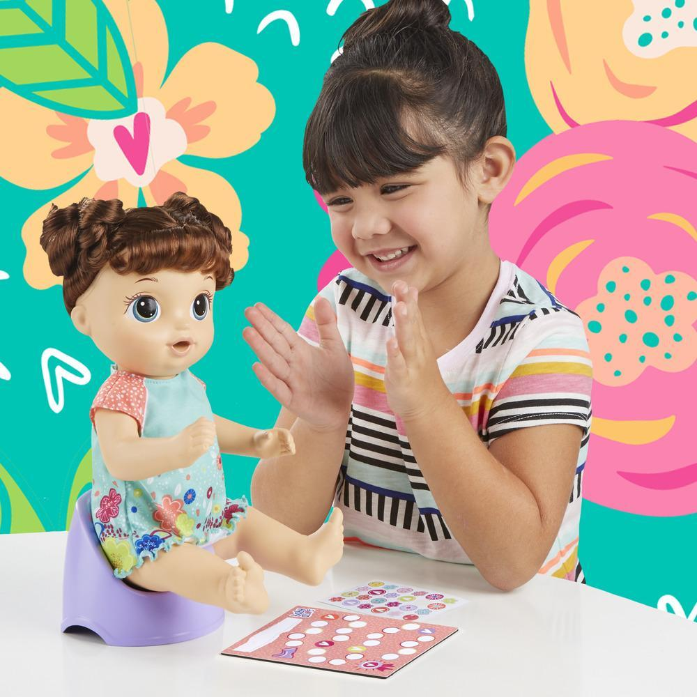 BABY ALIVE PRIMEIRO PENICO MORENA E0610