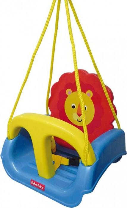 Balanço Infantil Azul Leãozinho Fisher Price 3 em 1 Xalingo