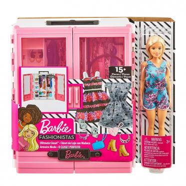 Barbie Closet de Luxo com Boneca